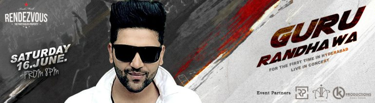 Guru Randhawa Live In Concert in Hyderabad on June 16, 2018