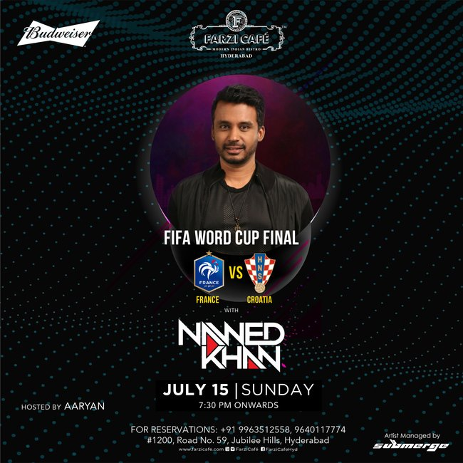 FIFA World Cup Final with Nawed Khan in Hyderabad