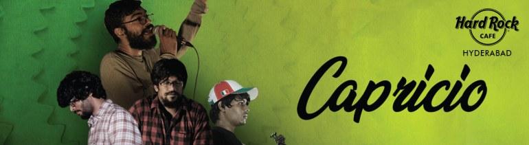 Capricio Live in Hyderabad on August 17, 2018