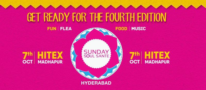 Sunday Soul Sante Hyderabad on October 7, 2018
