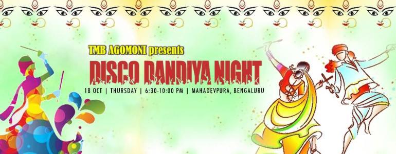 Agomoni Disco Dandiya Night 2018 in Bengaluru