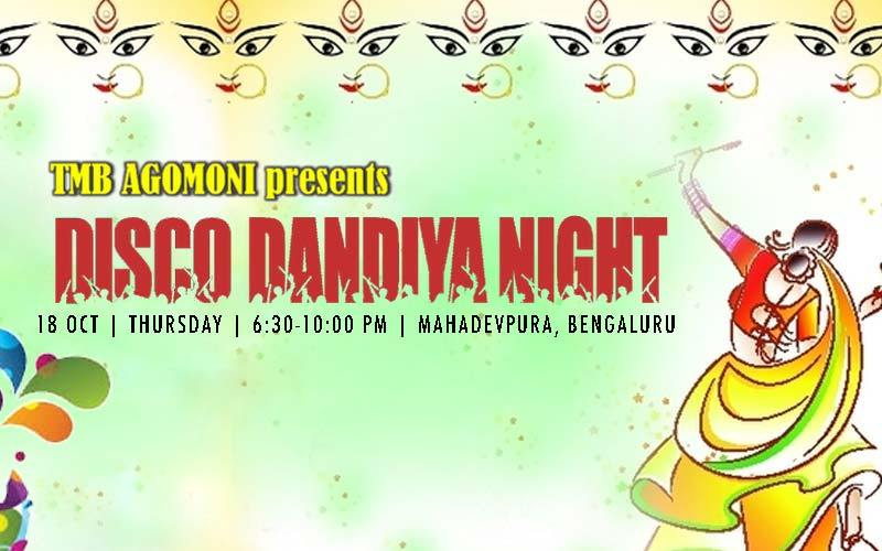 Agomoni Disco Dandiya Night 2018 in Bengaluru
