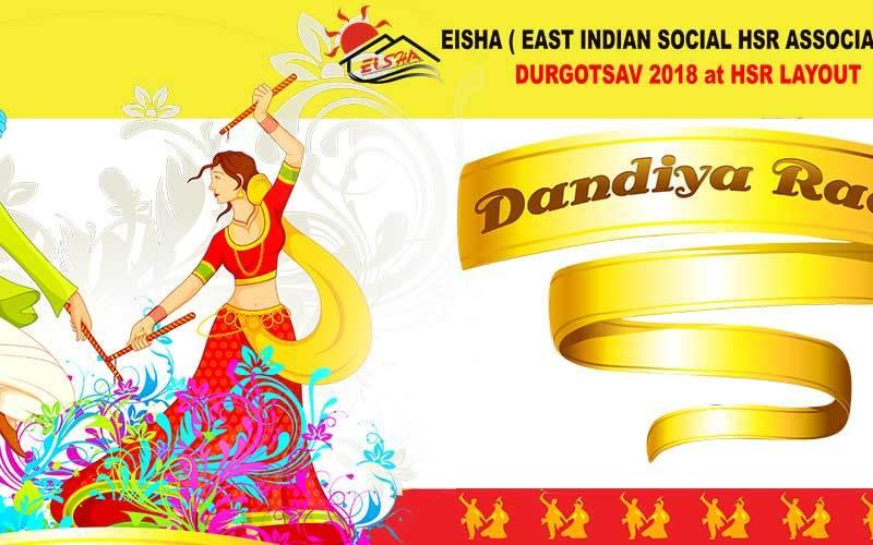 EISHA HSR Layout DJ Dandiya - Garba Raas