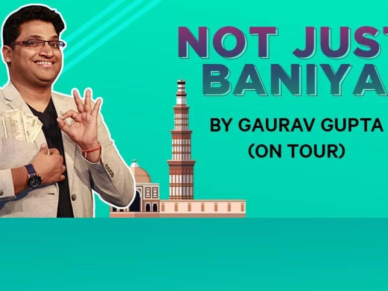 """Not Just Baniya by Gaurav Gupta in Kanpur"" is locked Not Just Baniya by Gaurav Gupta"