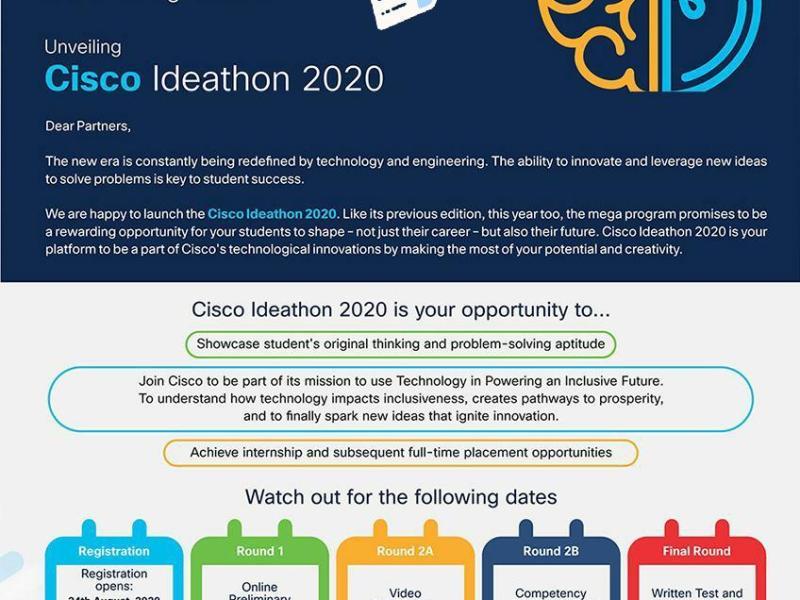 Cisco Ideathon 2020