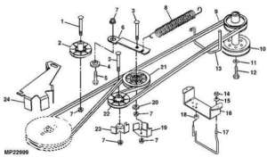 SOLVED: How do I replace the drive belt on a John Deere  Fixya
