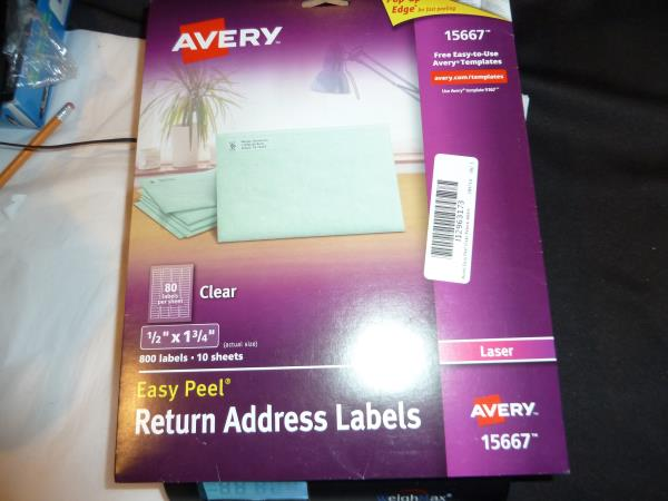 Avery Labels 5663 Template