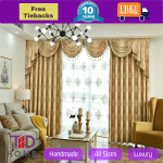Details About Blockout Eyelet Gold Coffee Brown Swag Valance Pelmet Curtains Drape Sheer Pleat