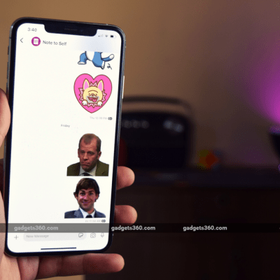 Bored of Default Signal Stickers? Here's How You Can Download and Create More Stickers