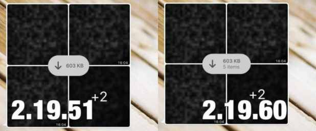 ALBUM ITEMS IOS wabetainfo main whatsapp