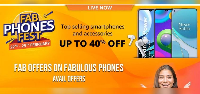 Amazon Fab Phones Fest Brings Up to 40 Percent Discount on Smartphones