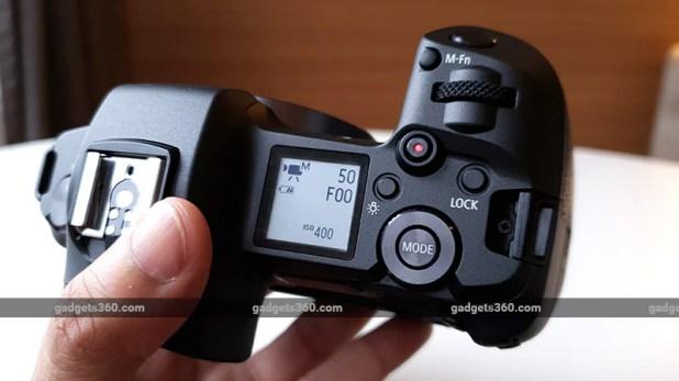 Canon EOS R top ndtv canon
