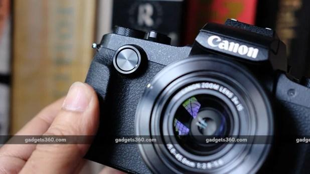 Canon G1X Mark III front dial canon