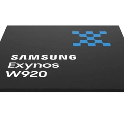 Samsung Introduces Exynos W920 SoC That Will Power Galaxy Watch 4 Series