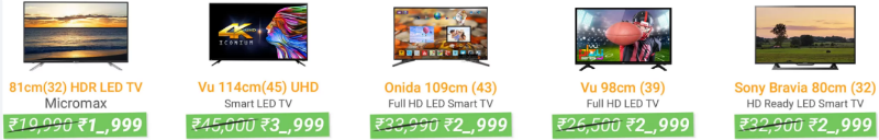 Flipkart - The Big Freedom Sale