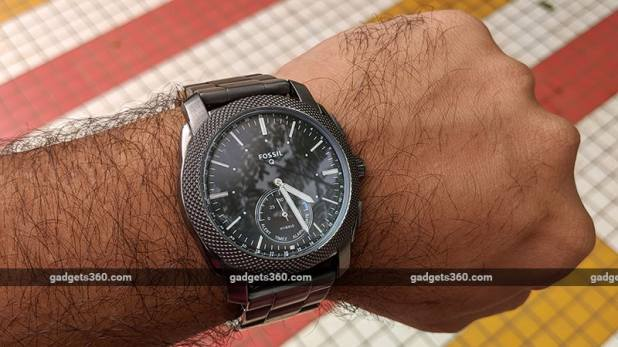 Fossil Cover Fossil Q Machine Hybrid Watch Review