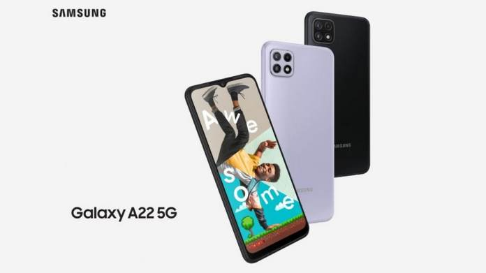 Samsung Galaxy A22 5G and 4G Variants Featuring 90Hz Displays Launched