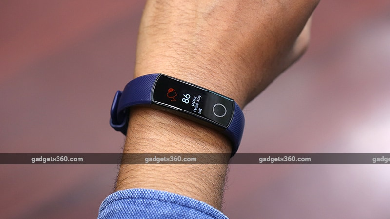 Honor Band 4 Heartrate Honor Band 4 Review