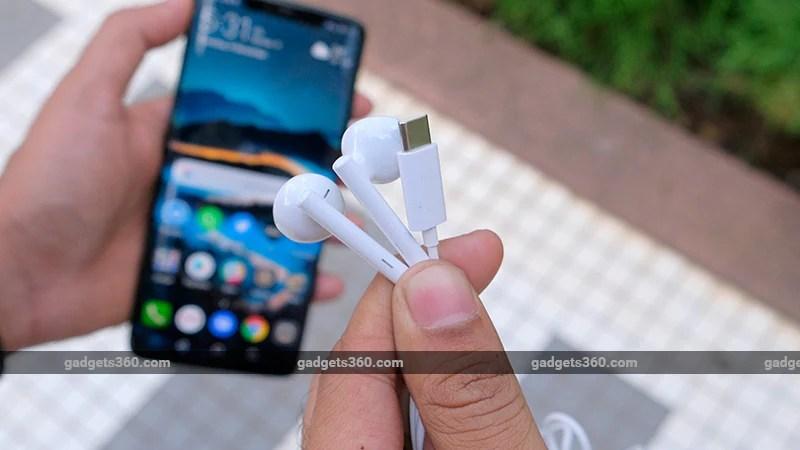 Huawei Mate 20 Pro earphones ndtv Huawei