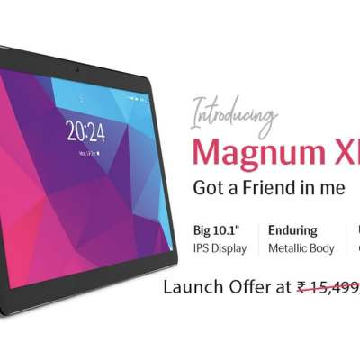 Lava Magnum XL, Aura, Ivory 4G Android Tablets Launched in India