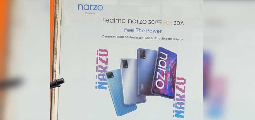 Realme Narzo 30 Pro 5G, Narzo 30A Could Launch First in Series; Leaked Poster Hints at Dimensity 800U for Pro