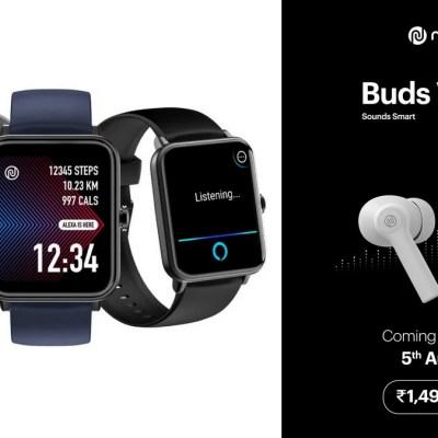 Noise ColorFit Pro 3 Assist Smartwatch, Noise Buds VS103 TWS Earbuds Launched