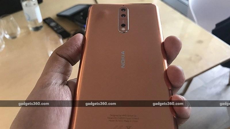 Nokia 8 Nokia 8 design