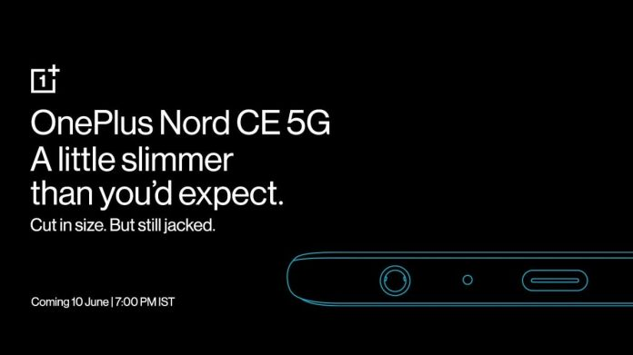 OnePlus Nord CE 5G Teased to Have 7.9mm Thickness, 3.5mm Headphone Jack