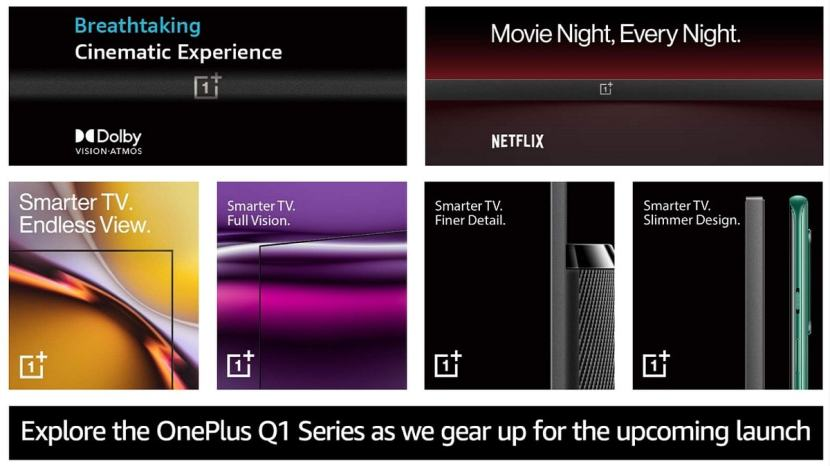 OnePlus Upcoming TV Series Will Have Three Models, Prices Teased 1