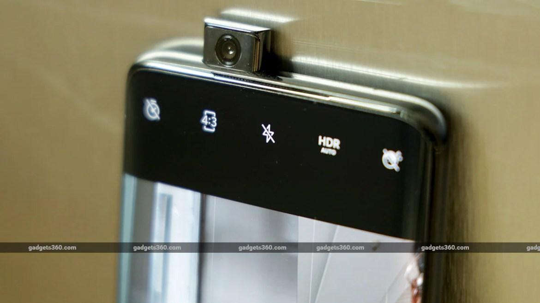Onelus 7 Pro pop up camera ndtv oneplus