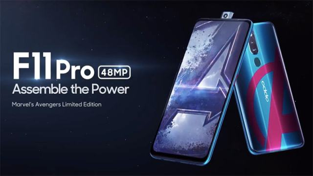 Image result for oppo f11 pro avengers edition