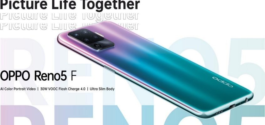Oppo Reno 5F With Quad Rear Cameras, 30W Fast Charging to Launch on March 22