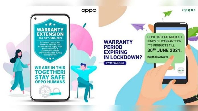Oppo Extends Warranty in India Till June 30 Amidst COVID-19 Lockdowns
