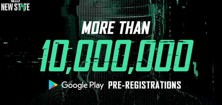 PUBG: New State Crossed 10 Million Pre-Registration Mark on Google Play
