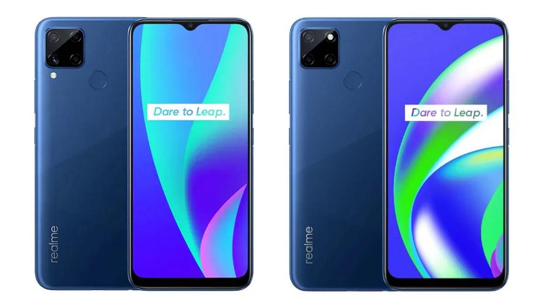 Realme C12 and Realme C15 smartphones