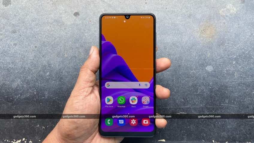 Samsung Galaxy F22 review: A Big-Battery Smartphone That's Not for Gamers