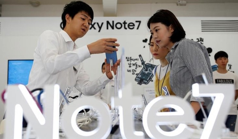 Samsung Galaxy Note 7 Recall: Restart of Sales Delayed by 3 Days in South Korea