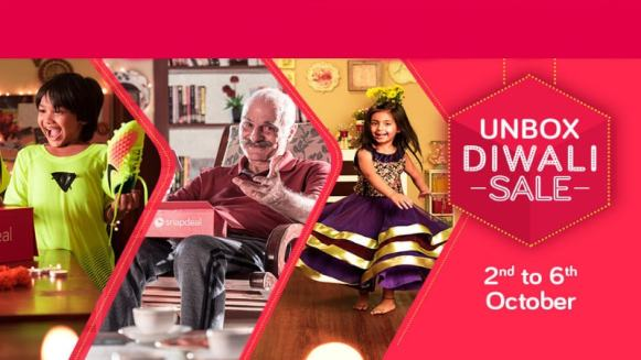 Snapdeal Sale Offers: iPhone 6s, Galaxy S7 Edge, and More Unbox Diwali Sale Deals