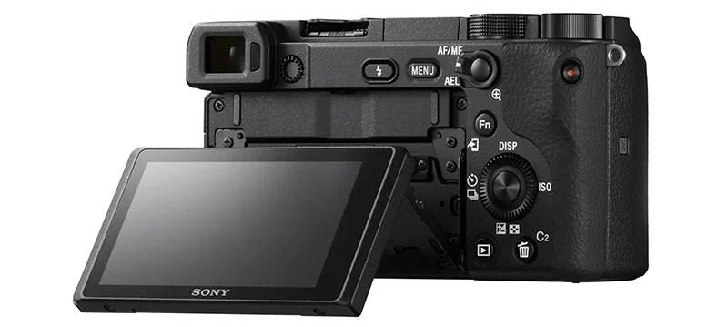 Sony camera rear1 Sony a6400