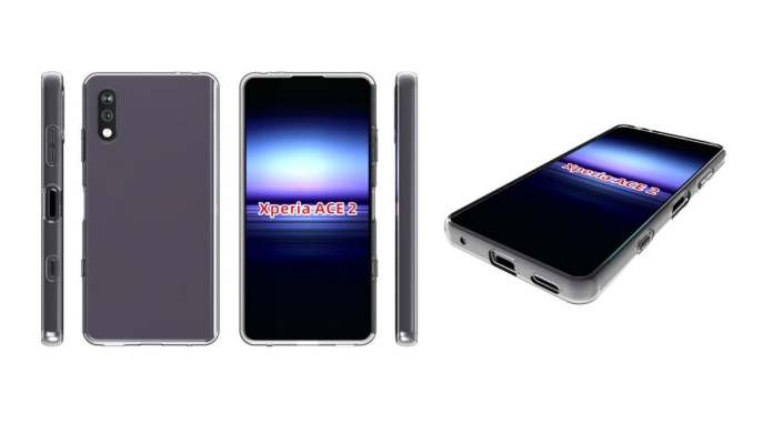 Sony Xperia Ace 2 Alleged Case Renders Hint at Design