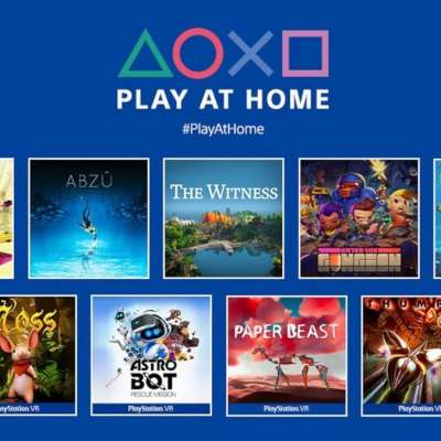 Sony Play at Home Initiative Brings 10 Free PS4, PS vr Games From March 25