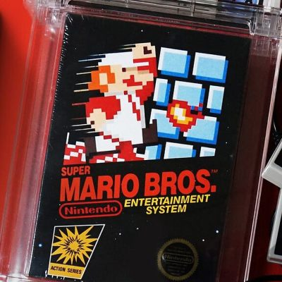 A 1985 Super Mario Bros Game Sells for $2 Million in New Record