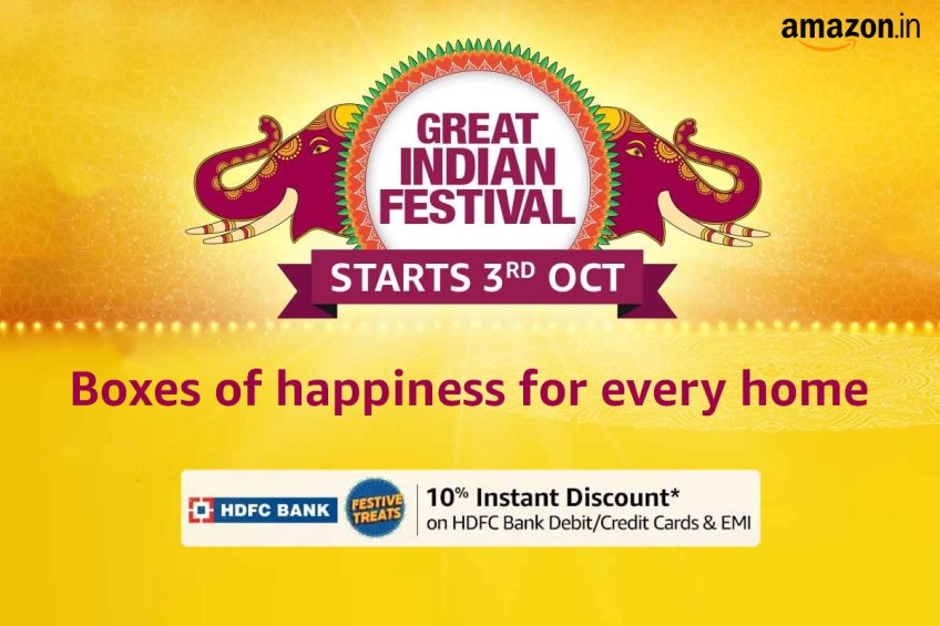 Amazon Great Indian Festival 2021: Live Blog of the Latest Deals and Discounts