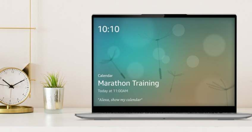 Lenovo Laptops Can Now Turn Into Smart Displays Using Alexa's Show Mode