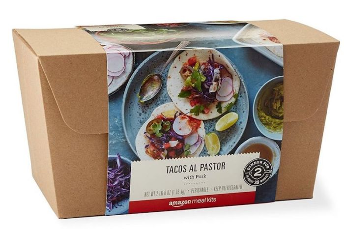 Amazon's Meal Kits Go on Sale as It Looks to Expand Groceries Business