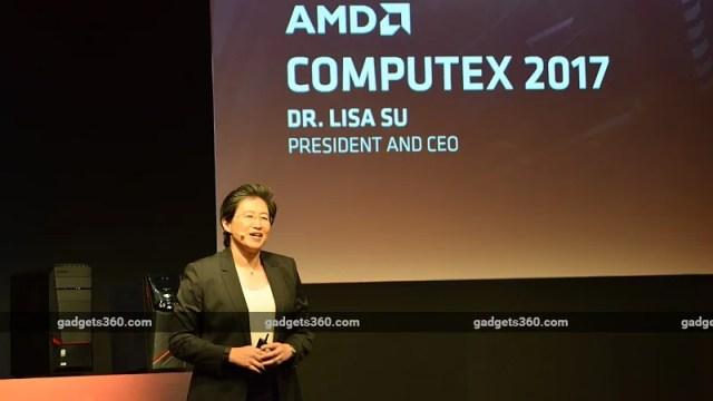 AMD Details Ryzen Mobile, Threadripper, Radeon Vega, and Epyc at Computex 2017