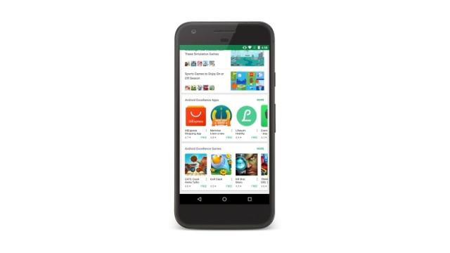Google Play Now Has an 'Android Excellence' Section With Curated Apps and Games