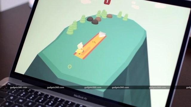 apple macbook air M1 2020 review games ss