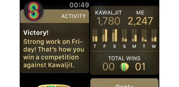apple watch series 4 activity competitions Apple Watch Series 4