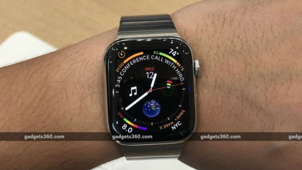 apple watch series 4 story gadgets360